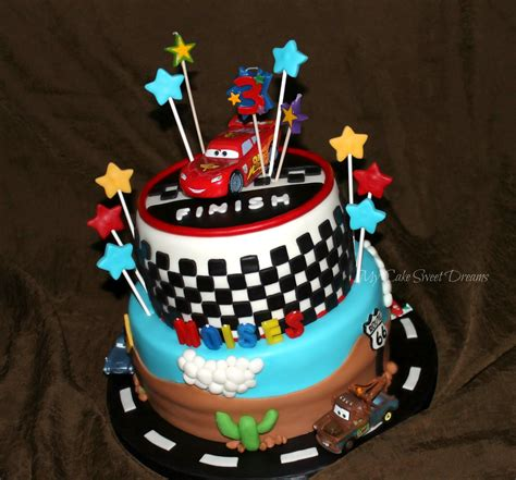 mycakesweetdreams cars cake