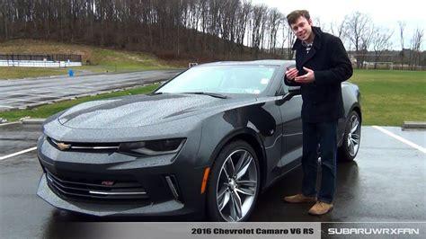 2016 Chevrolet Camaro V6 Rs