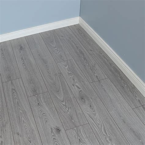 Grey Laminate Flooring UK   Timeless Oak 12mm   Fast Delivery