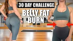 10 Min Belly Fat Burn Workout 30 Day Challenge Lose Belly Fat