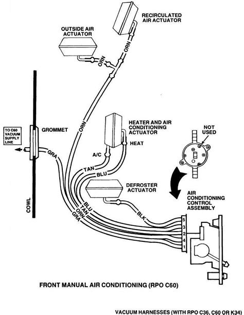 ac vacuum lines page  gm square body   gm