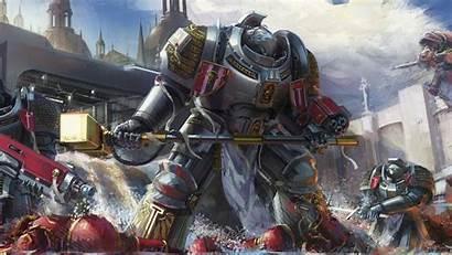 Warhammer Robots 40k Wallpapers Desktop Widescreen Popular