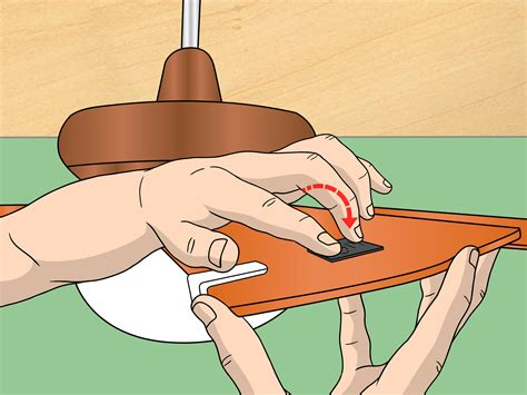 balance wobbly ceiling fan how to balance a wobbly ceiling fan 7 steps with pictures