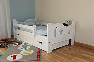 Kinderbett Mit Rausfallschutz 90x200 : arbox massivholz kinderbett mit rausfallschutz kinderzimmer ~ Watch28wear.com Haus und Dekorationen