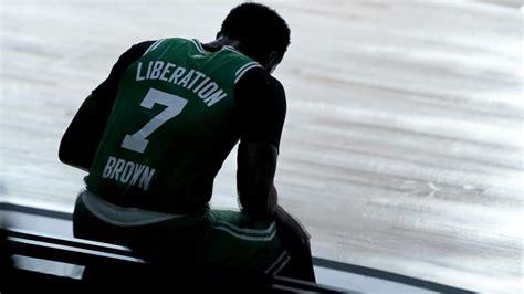 How Celtics' Jaylen Brown is a 'leader' on NBA's social ...
