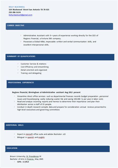 Best Resume Titles For Sales by Standard Resume Formats Best Bartender Resume Sales Management Resume Objective Exles Best