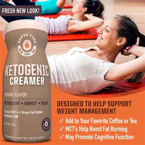 Best low carb keto coffee creamers creamer reviews. Rapid Fire Ketogenic Creamer with MCT Oil for Coffee or ...