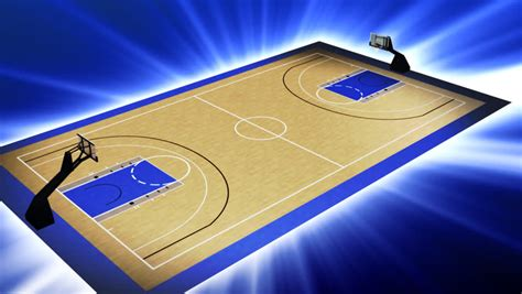 Animated Basketball Court