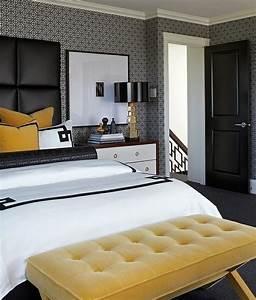 chambre noire et blanche signification des couleurs et With chambre adulte noir et blanc