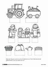 Basteln Pdf Bauernhof Farm Kinder Haus Barn Vorlage Traktor Scheune Coloring Kostenlos Template Animals Kunst Garten Bastelvorlage Hof Komplette Illustratoren sketch template