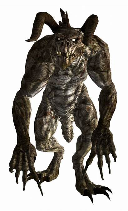 Fallout Deathclaw Vegas Deathclaws Alpha Male Mother