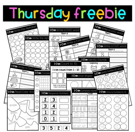 thankful thursday freebie  images writing cvc