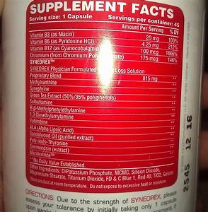 Metabolic Nutrition - Synedrex - 45 Caps  Old Version With Dmaa  Pivht-supplements Com