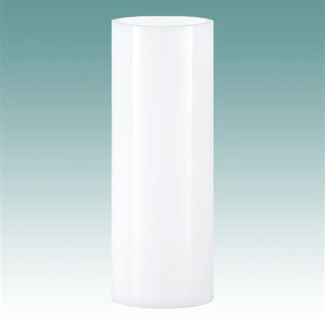 Cylindrical Glass Lamp Shades by 5904 S White Cylinder 4 Quot X 6 Quot Glass Lampshades