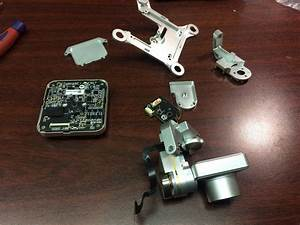 Dji Phantom 2 Vision Plus Gimbal Yaw Arm Replacement