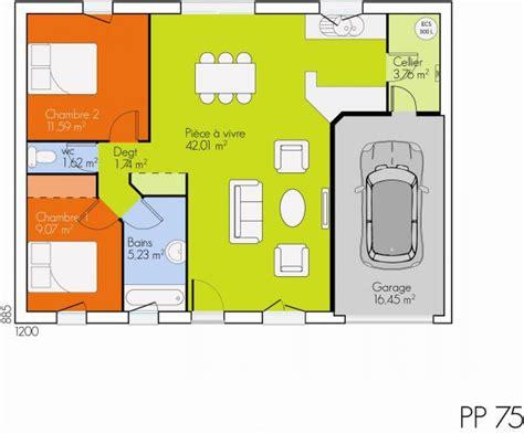 Exemple Interieur Maison Modele Maison U Mulhouse U Modèle Et Plan De Maison Open Plain Pied Par Le