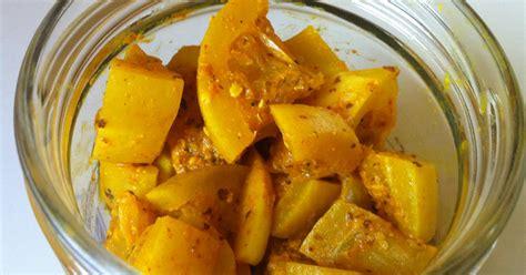 recette achard de citrons confits