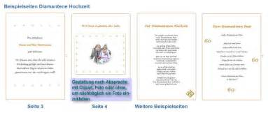 einladung hochzeit textvorschlã ge diamanthochzeit festzeitung diamantene hochzeit geschenk einladung karte deko eur 12 55