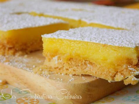 recette de cuisine facile et rapide dessert recette carrés au citron le cuisine de samar