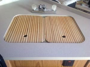 rv kitchen sink covers easy rv sink covers boiling to the surface 5034