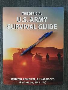 Official U S  Army Survival Guide