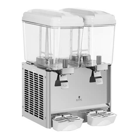 dispense macchine elettriche dispenser bevande fredde 2 x 18 litri