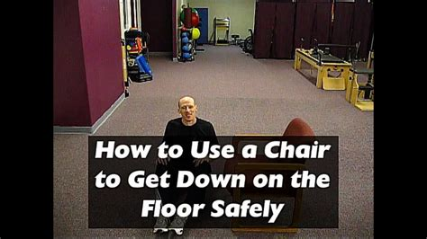 safely floor down