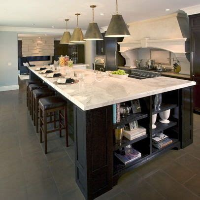 two level kitchen island designs multi level kitchen island design spaces cooking eating pin