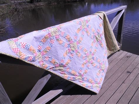 quilt story handmade retro s wedding ring quilt