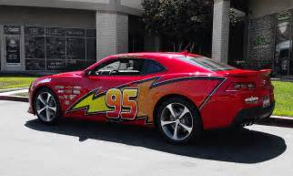 Camaro Lightning McQueen Decals
