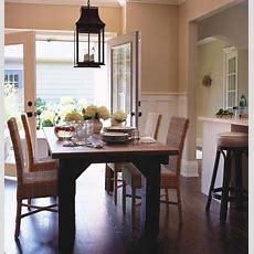 Wicker Dining Chairs  Cottage  Dining Room  House & Home