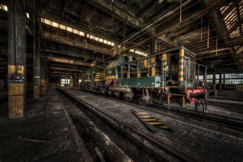 Train Graveyard Inside Abandoned Railway Depot | Urban Ghosts