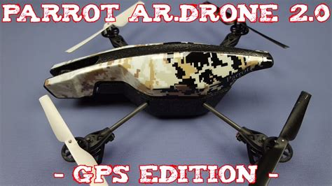 review parrot ardrone  gps edition youtube