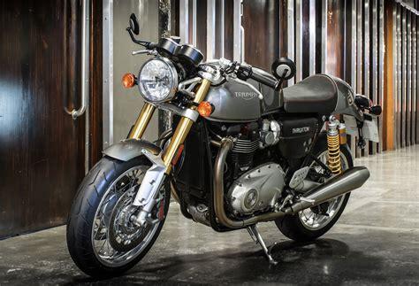 Triumph Thruxton Image motorcycle 2016 triumph thruxton thruxton r specs