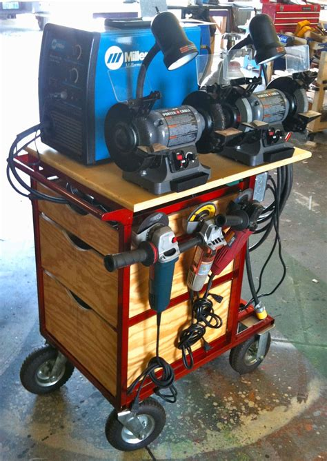 complete diy welding table  cart ideas  designs