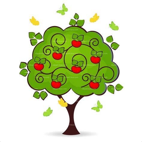 Apple Tree Clipart Fall Apple Clipart Clipart Suggest