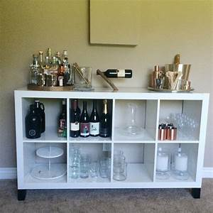 Ikea Kallax Diy : expedit with legs an ikea hack diy pinterest bars for home ikea bar and diy bar ~ Orissabook.com Haus und Dekorationen