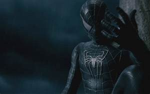 Black Spider Man HD Wallpaper | Animation Wallpapers