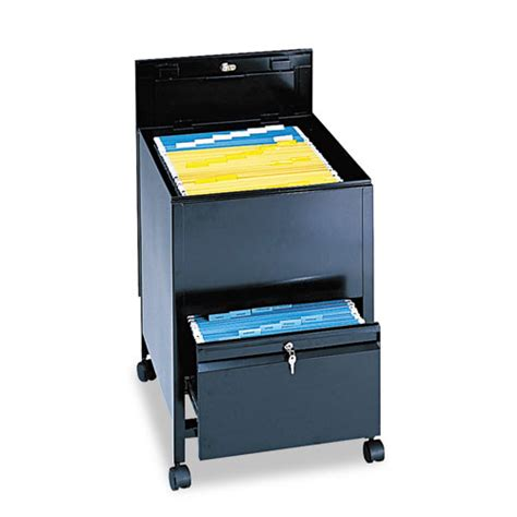 Tub Files by Saf5365bl Safco Locking Mobile Tub File With Drawer Zuma