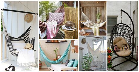 awesome hanging chairs  hammocks   small balcony