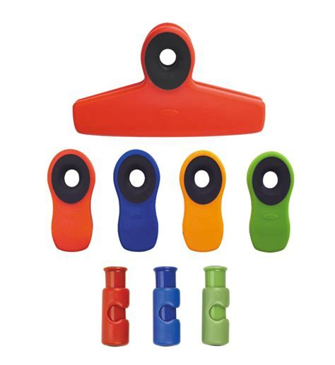 OXO Bag Clips and Chip Clip Set (Set of 8) in Bag Clips