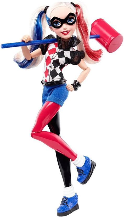 Toyzmag Com Dc Super Hero Girls Poison Ivy Harley Quinn