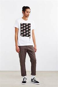 Urban outfitters Floral Repainting Tee in White for Men   Lyst