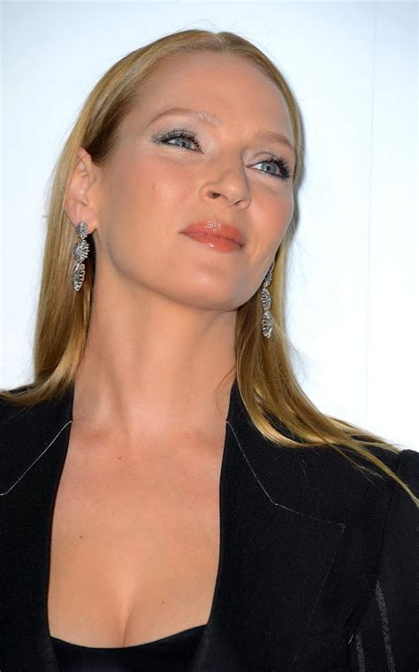 uma best uma thurman showing cleavage at s in