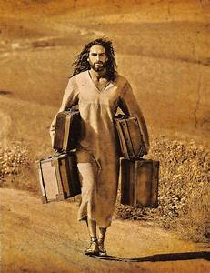 """Your baggage isn't too heavy for Jesus! """"Come to me, all ..."""