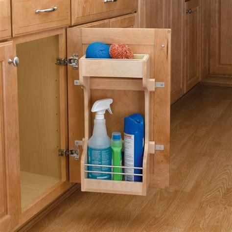sink shelf kitchen rev a shelf sink storage system 13 1 2 inch w 4sbsu 3900