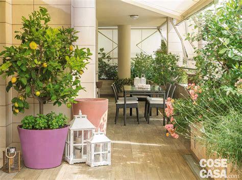 terrazzo o terrazza la terrazza diventa living arredare anche con le piante