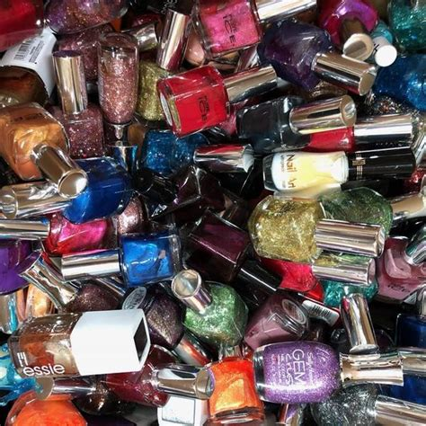 wholesale assorted brand nail polish lot piece