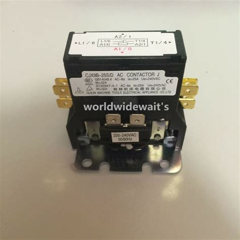 cjx9b 25s d ac 220v air conditioner coil magnetic contactor ebay