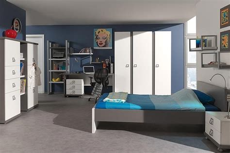 chambre ado garçon bleu photo 8 20 une grande chambre